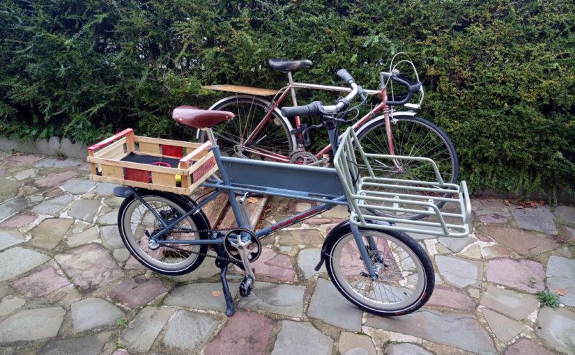 Un vélo cargo simple et compact